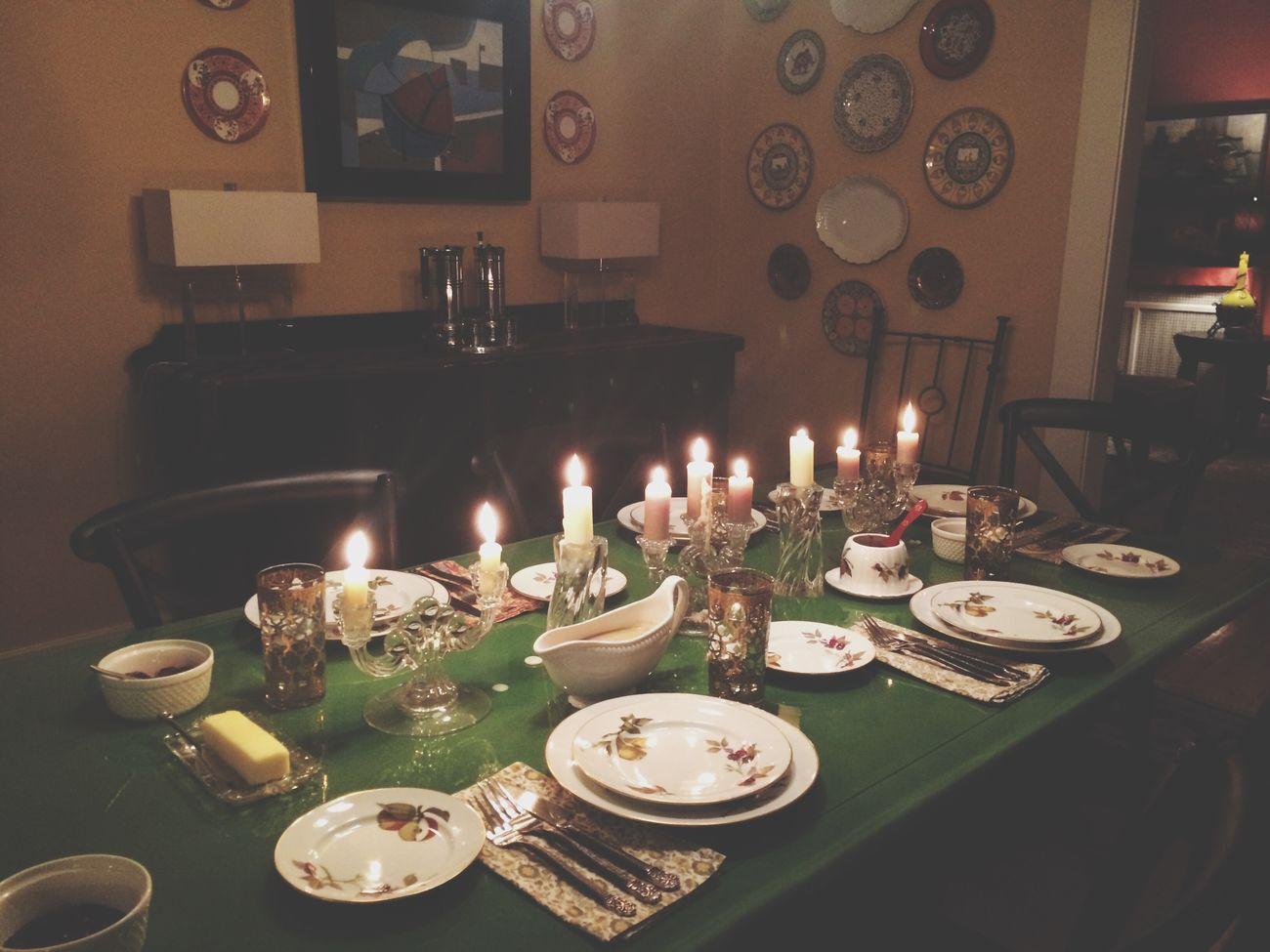 "Thanksgiving ""kids"" table. Thanksgiving Table Arrangement Decor"
