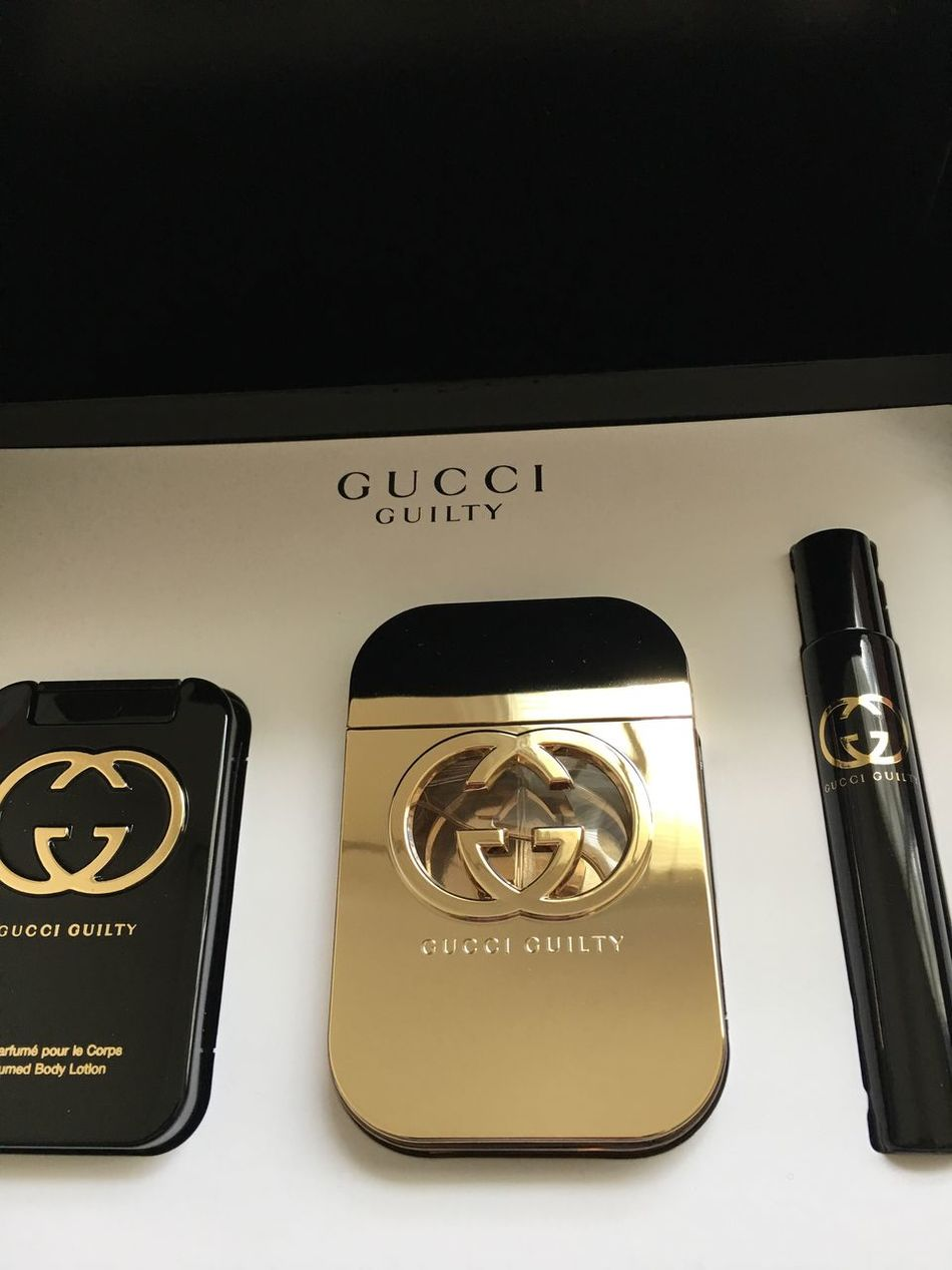 Gucci Guilty. Perfume Lover Gold Colored No People Fashion Designer  GUCCI
