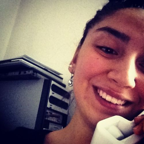 Beauty Is Alesys A beauty even without make-up smile like a model