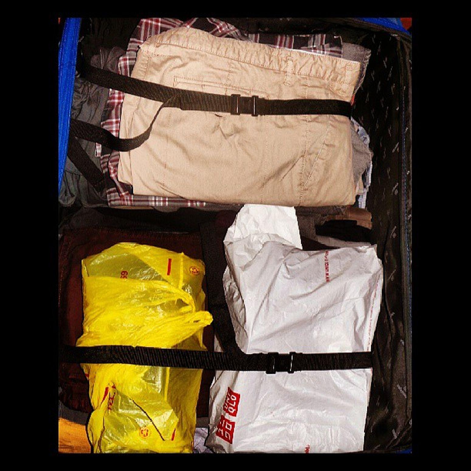PACKED UnderPacked Readysetgo LondonYourPandaIsComingHome Clothes ByeByeManila BigAssSuitcase Igers IgersManila LasPinas BFRV Hashtag
