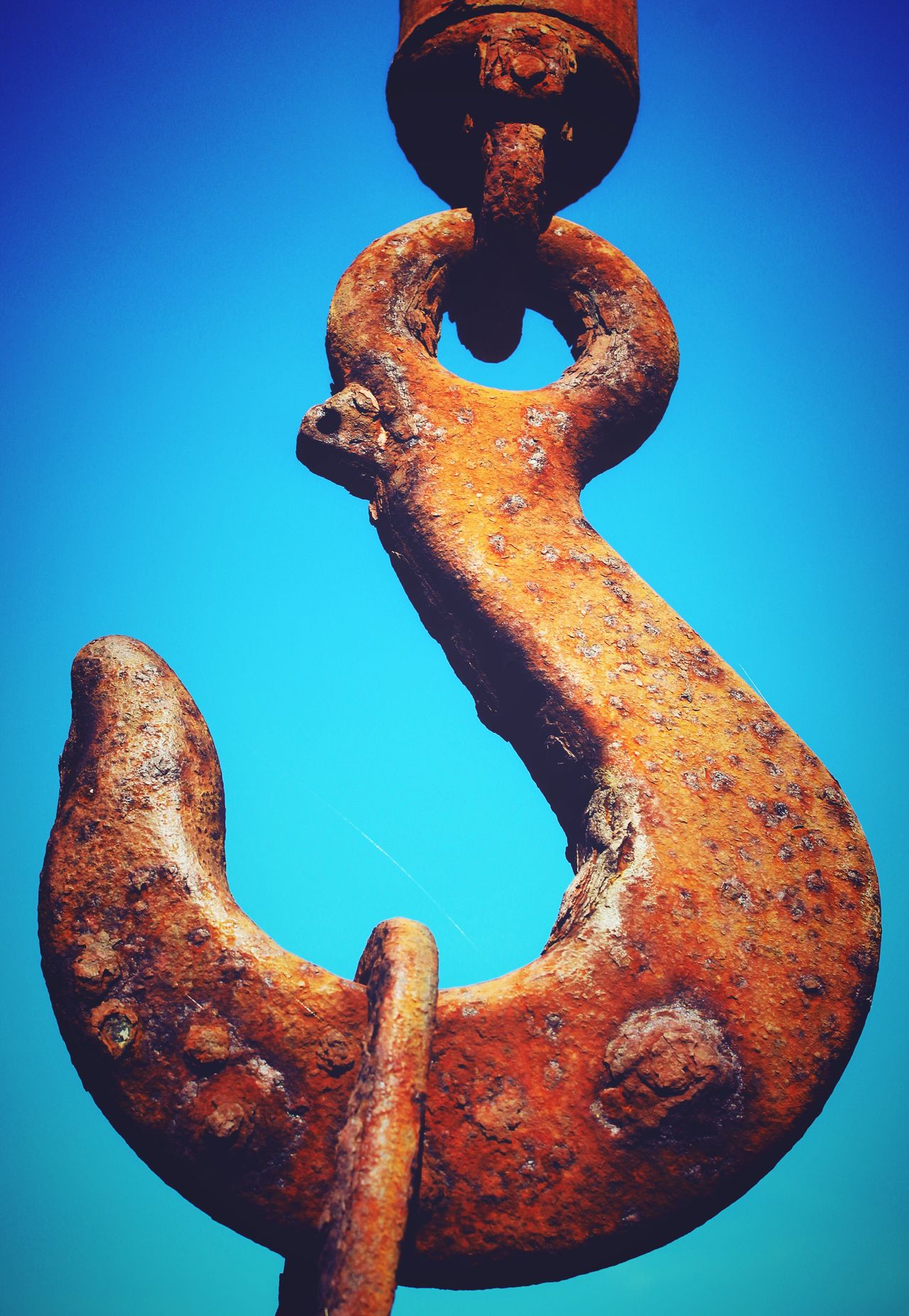 Rust Rusty Hook Metalwork Iphonephotography Iphone6s Mix Filter