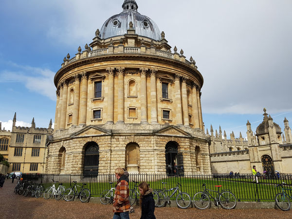 Radcliffe Camera, University of Oxford, Oxford, United Kingdom Ancient Architecture Cloud GB Oxford Oxford University Radcliffe Radcliffe Camera Study Uk United Kingdom University Of Oxford