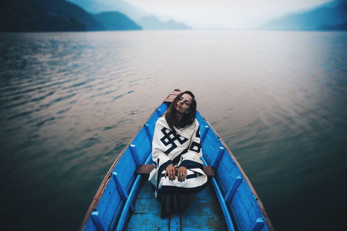 Nepal Pokhara My Best Photo 2015 Lake Nature Traveling Travel Photography