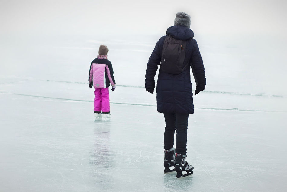 Freedom! Frozen Frozen Lake Frozen Landscape  Frozen Nature Frozen World Group Of People Have Fun Horizon Ice Field Ice Skating Ice-skating Lake Balaton, Hungary Let's Go On The Road Outdoor Activities Outdoors Skating Traveller Vast Vastness Water Winter Winter Sports Winter Time