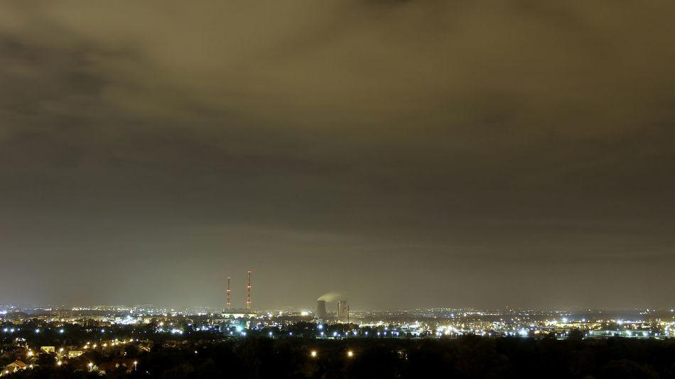 Cityskyline Krakow Krakow Skyline Krakow Skyline At Night Krakow,Poland Kraków, Poland Skyline Skyline At Night