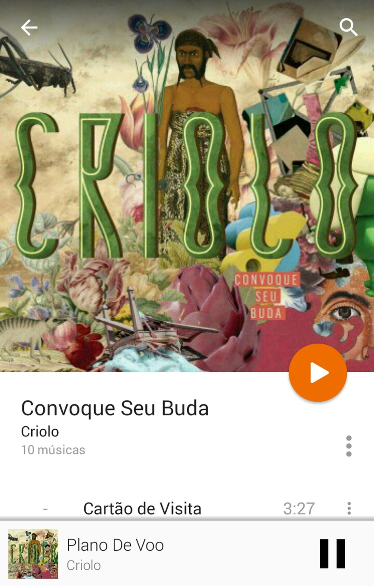 Criolo Rap Music Play