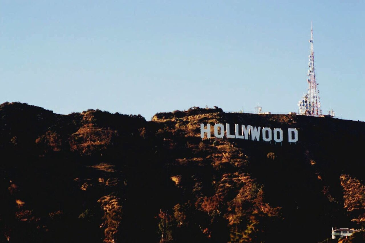 Beautiful stock photos of hollywood, Architecture, Built Structure, Capital Letter, Clear Sky