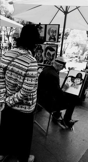 Art Is Everywhere People Real People City