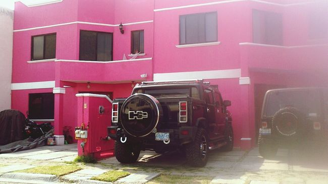 Barbie House Comeonbarbyletsgo Party Jeep Pink
