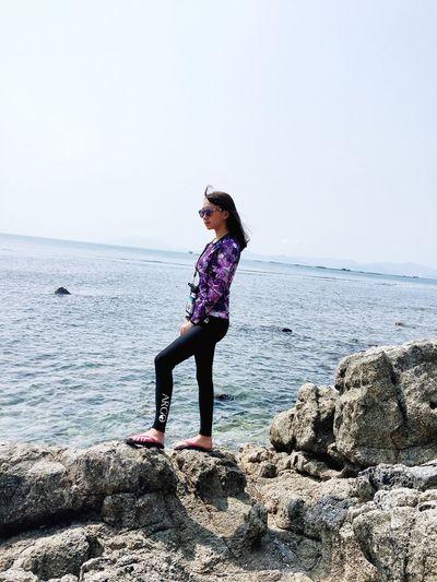 Blue Wave China Beauty Sea And Sky Beautiful