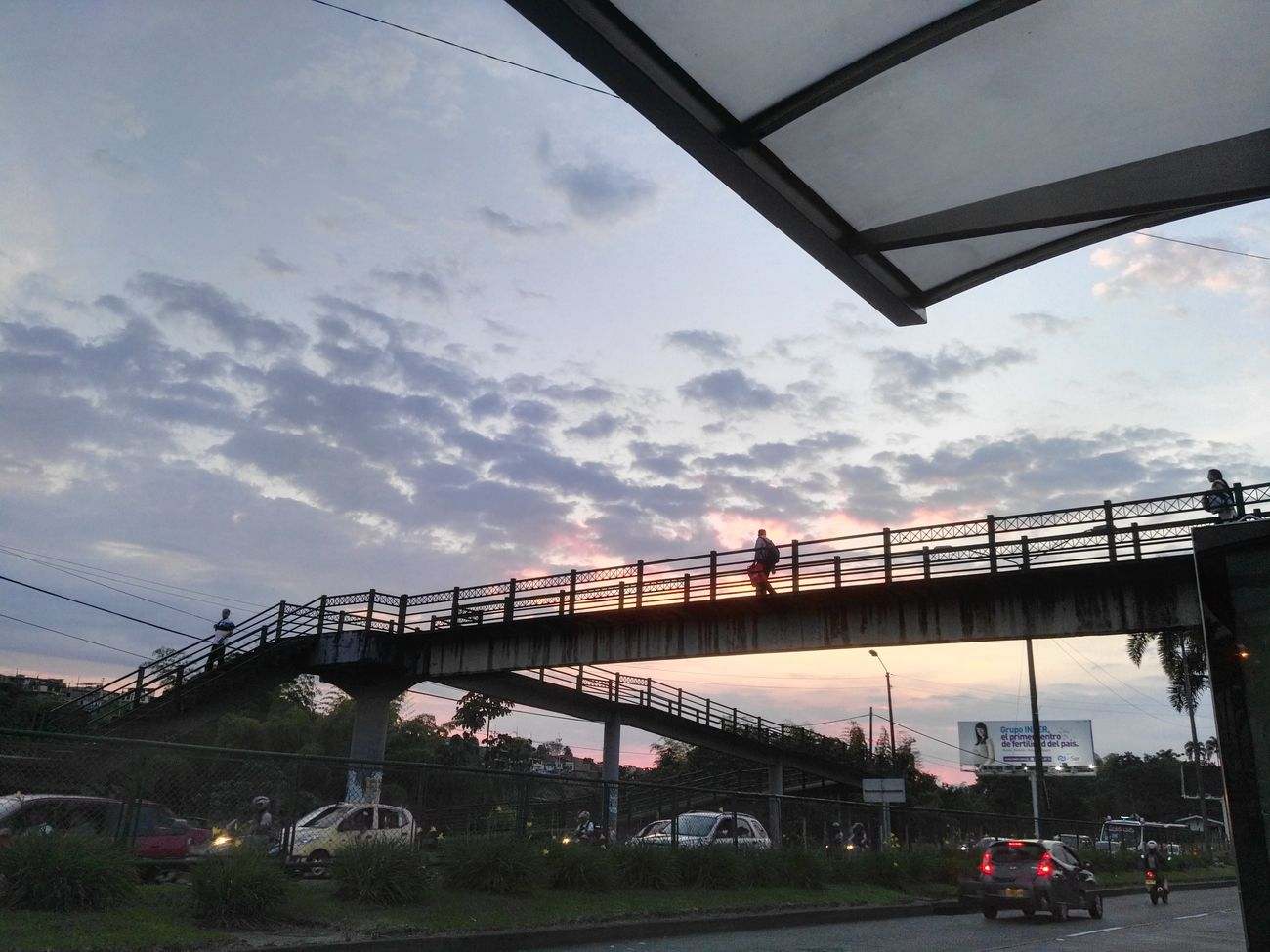 Natural Pereira Nofilternoedit Sky Bridge - Man Made Structure Cloud - Sky Sunset Outdoors City Cityscape Day First Eyeem Photo