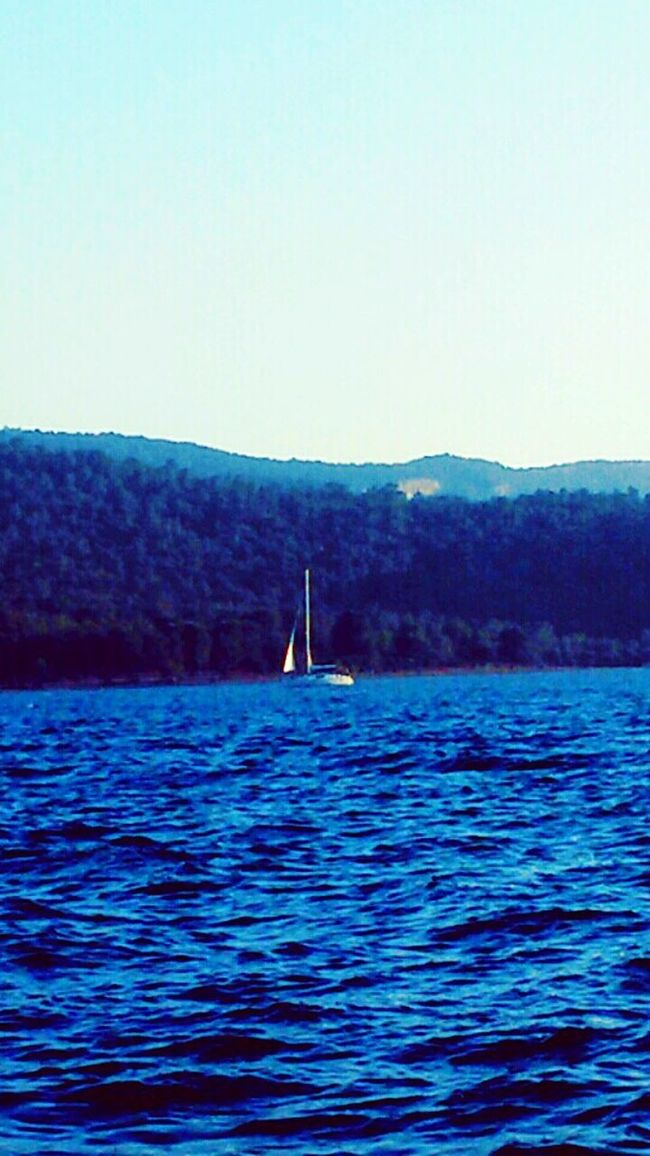 Lovely shot and i miss u ♥.♥ Water Blue Waterfront Tranquility Tranquil Scene Mountain Scenics Rippled Clear Sky Sea Nature Seascape Beauty In Nature Calm Outdoors Sailing Yachts Non-urban Scene Journey No People Eyeem Turkey Eyeem Market EyeEm Gallery Goodlife Sailing Boat Sea And Sky