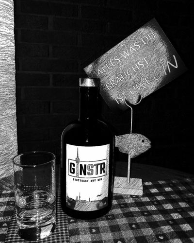 Sich mal was gönnen. :) No People Close-up Relaxing Moments Delicious Stuttgart Dry Gin Ginstr GIN Gintlemen