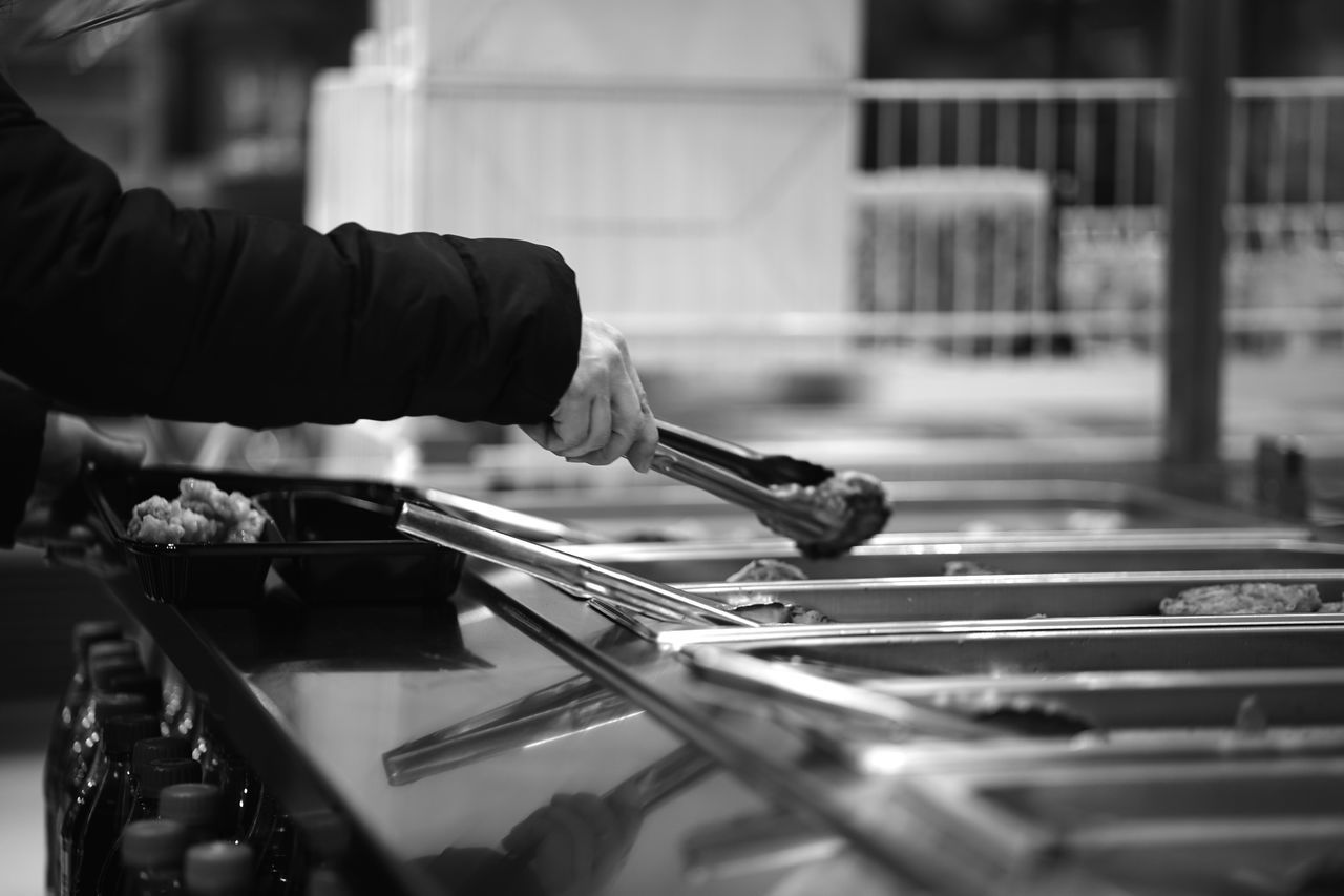 packing a great lunch Adult Adults Only Close-up Day Food Preparation Men Monochrome Occupation One Man Only One Person Outdoors People Real People Working