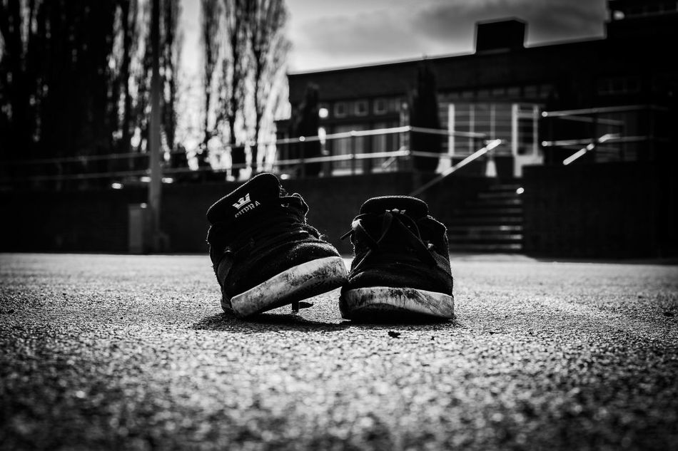 Blackandwhite Bokeh City Close-up Day Hampstead Heath Isolated Light London Low Angle View Low Section Outdoors Shoe Supra Suprafootwear