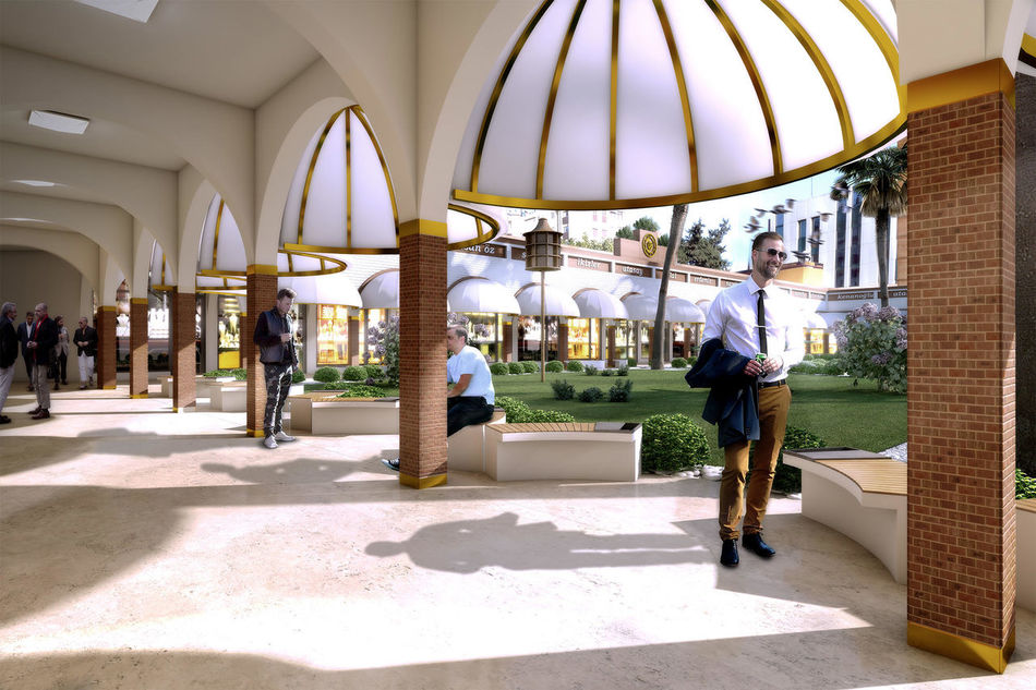 3D 3D Art 3D Effect 3D Photo 3d Rendering 3DS 3dsMax Adana Adult Adults Only Architecture Architecture Art Day Design Full Length Indoors  Men One Man Only One Person Only Men People Real People Shopping Mall Walking