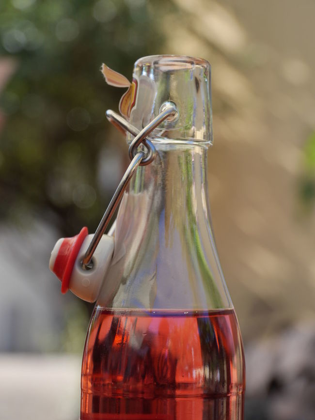 Bottle Close-up Focus On Foreground Freshness Glass - Material Multicolored No People Transparent