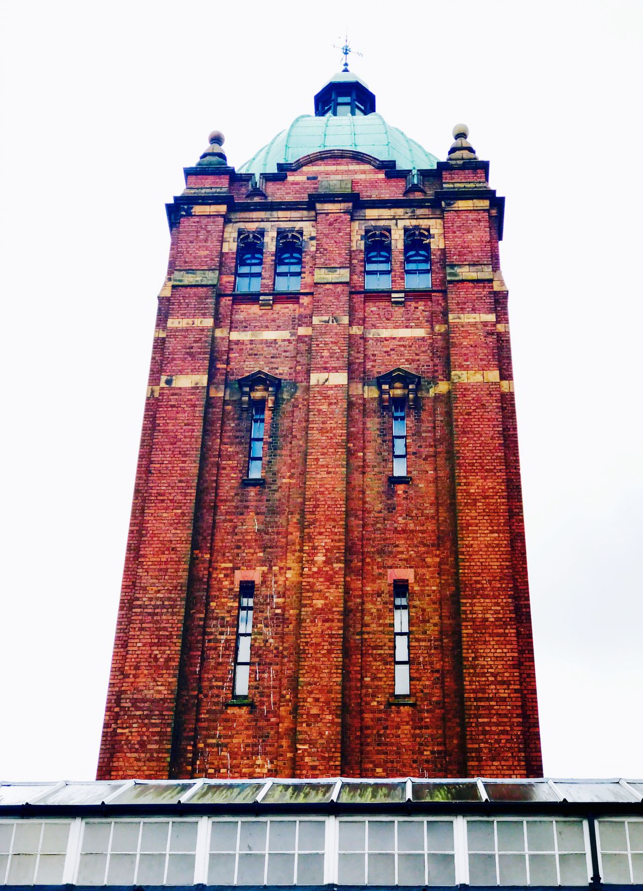 Northfield Miltary Hospital building Architecture Low Angle View Tower
