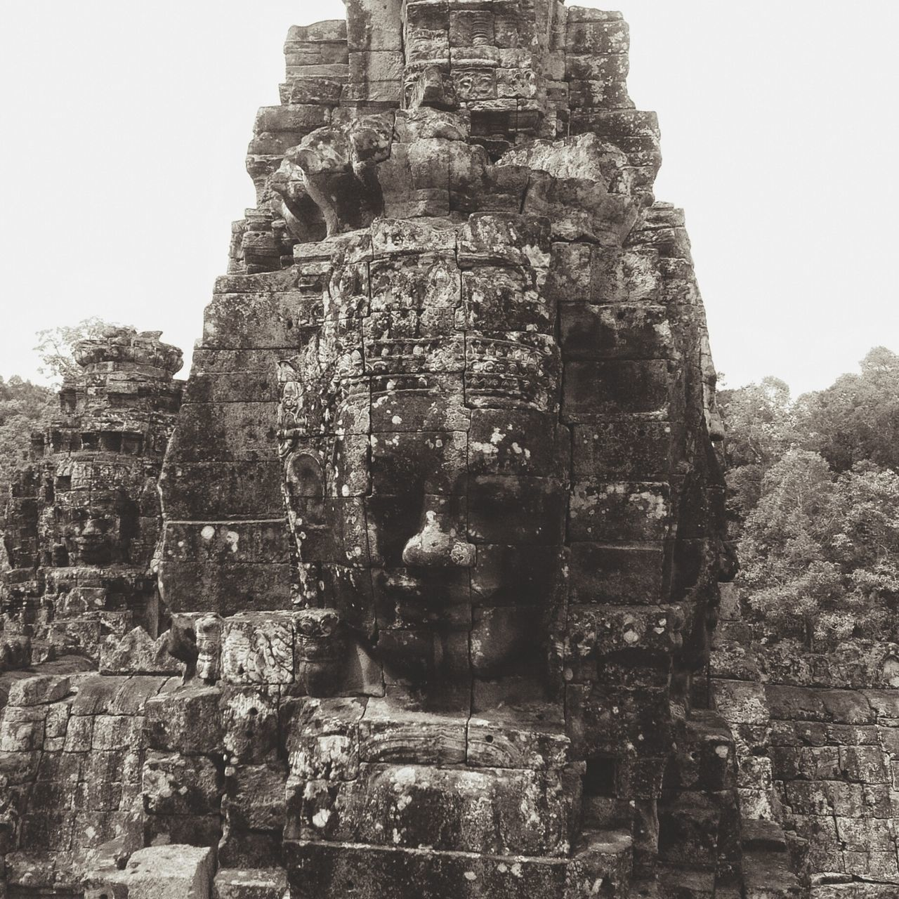A smile behind the façade Angkor Siem Reap Angkor Thom Cambodia Temple Ancient Temple Travel Travel Photography Architecture Ancient Architecture Ancient Civilization