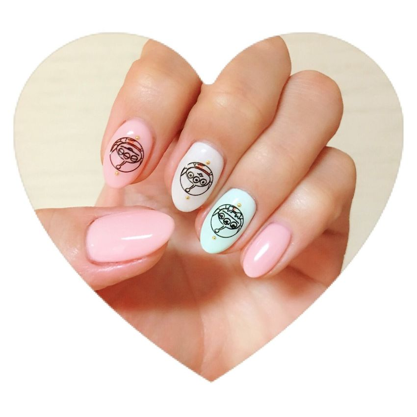 春 ネイル お花見 Cherry Blossoms Nails Toystory Fashion Fashion&love&beauty Nail Art Cute Love Japan Japanese  Girl Lifestyles Bestoftheday Pastel Power Favorite Happiness Colors