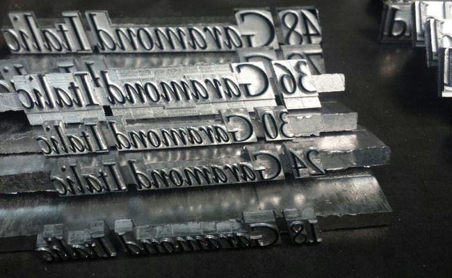 Typeface  Garamond Typeface Typography Printingpress