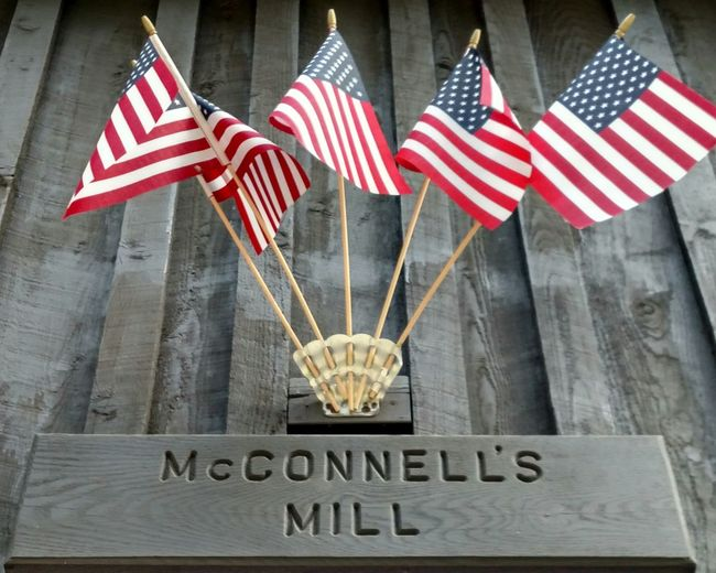 Mcconnells Mill State Park Portersville Pa Day Out With Family Enjoying Life The Purist (no Edit, No Filter) Historical Building Historic Sites History Through The Lens  Mcconnells Mill Waterworks Happy 4th Of July American Flags American Pride