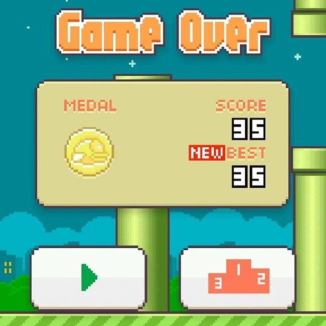 Oha! Flappybird FeelingProud Bwisetgame Instagramthatshit
