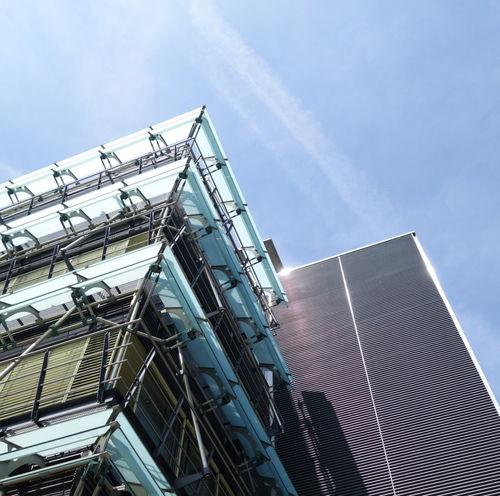 Architecture Blue Building Building Exterior Buildings & Sky City Eth Metallic Sky The Architect - 2016 EyeEm Awards