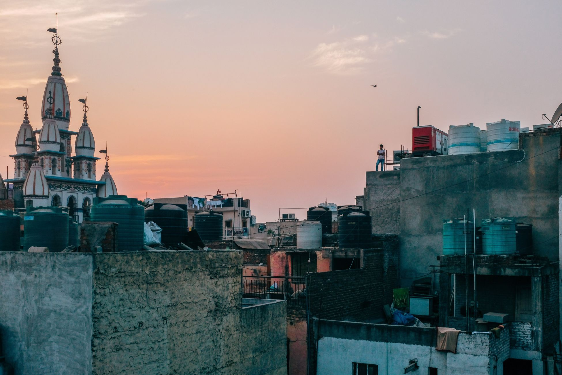 New Dehi. India. 2016. Architecture Building Exterior Dome City Sunset Travel Destinations Traveling Home For The Holidays Finding New Frontiers