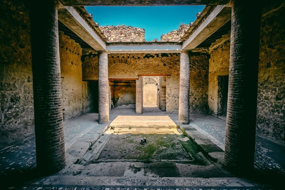 Beautiful stock photos of pompeii, Architectural Column, Architecture, Built Structure, Day