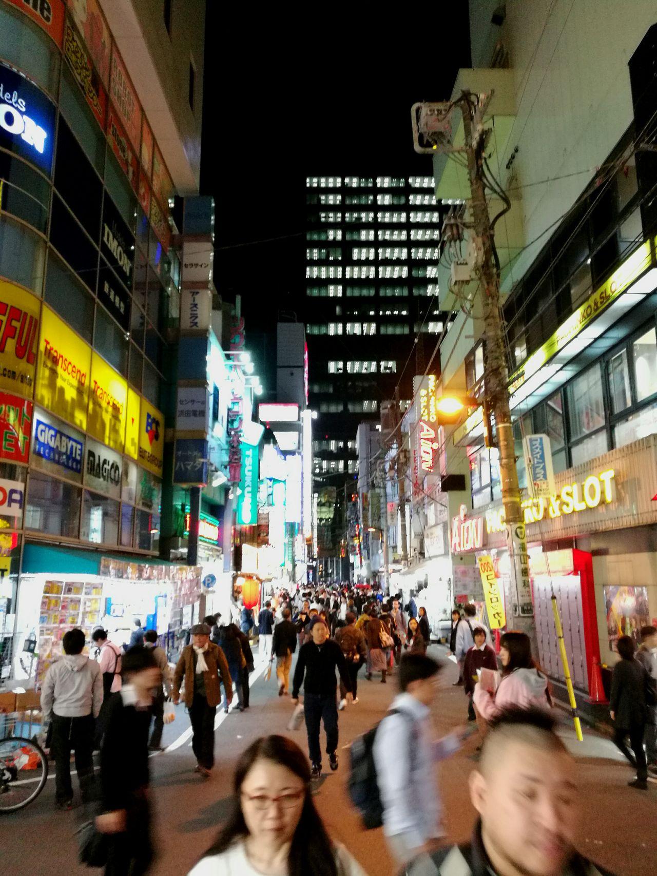 akihabara tokyo japan City Street Night Japan Downtown