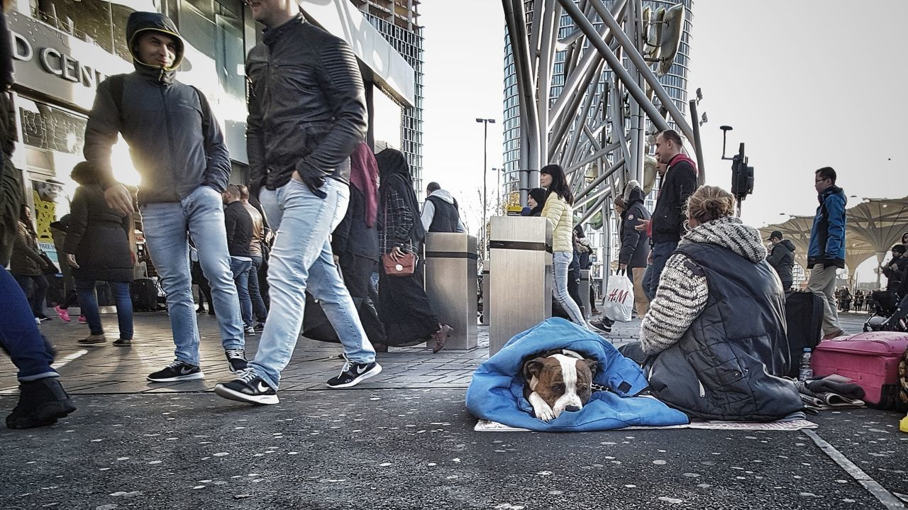 www.justgiving.com/crowdfunding/ourhomeless - Helping Our Homeless People Help Our Homeless Help Our Homeless People Help Helping Helping Others Charity Helping Homeless People City Outdoors Adult Day Sunday Afternoon Careful Pet Streetphotography Invisible