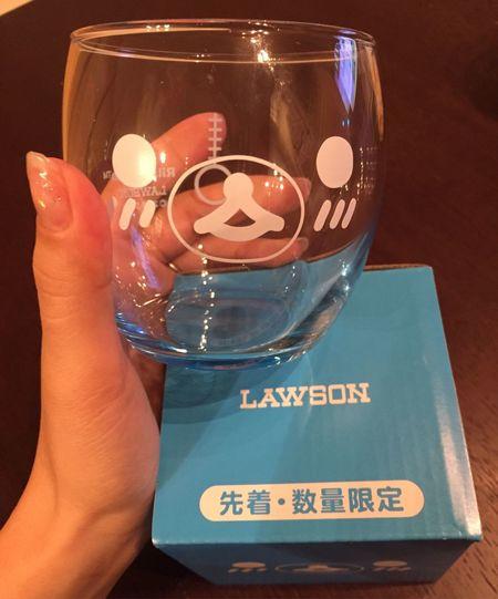 Lawson 数量限定 リラくま グラス