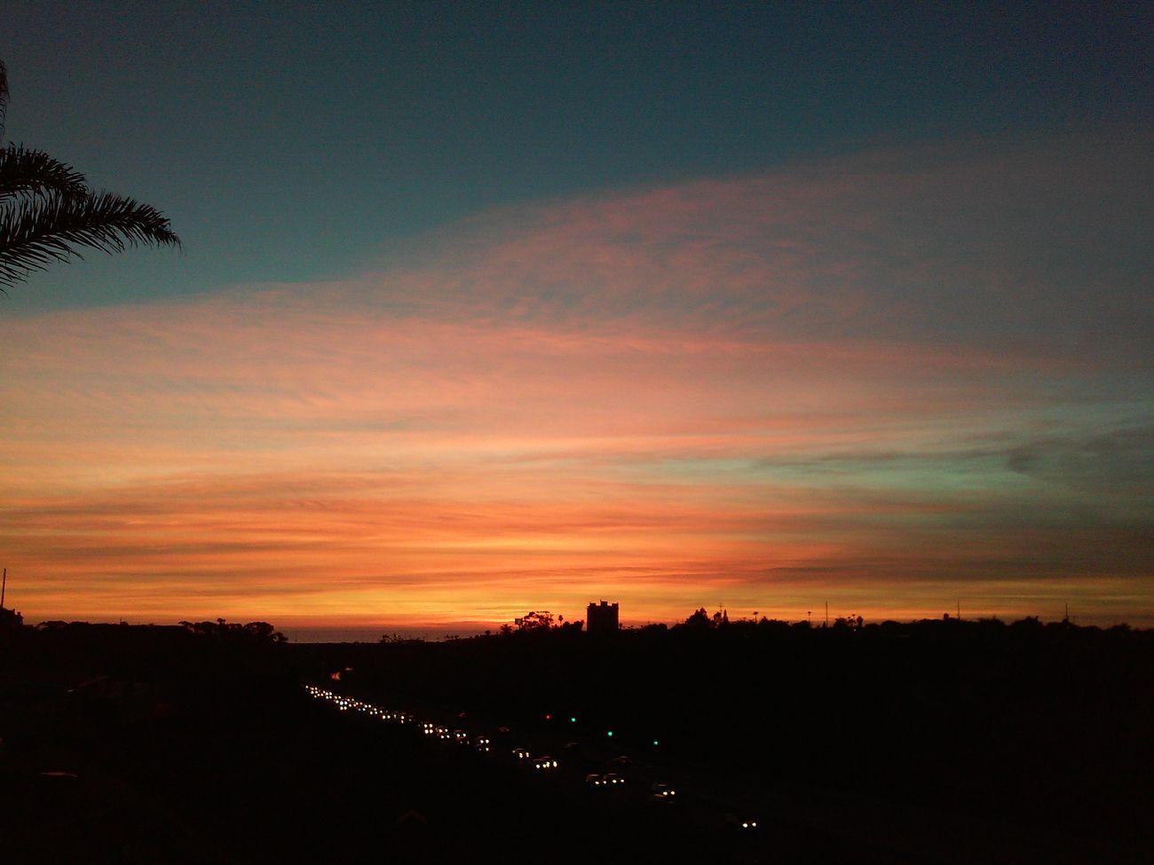 Sunset Dramatic Sky OceansideCA Oceanside Sunsetaday