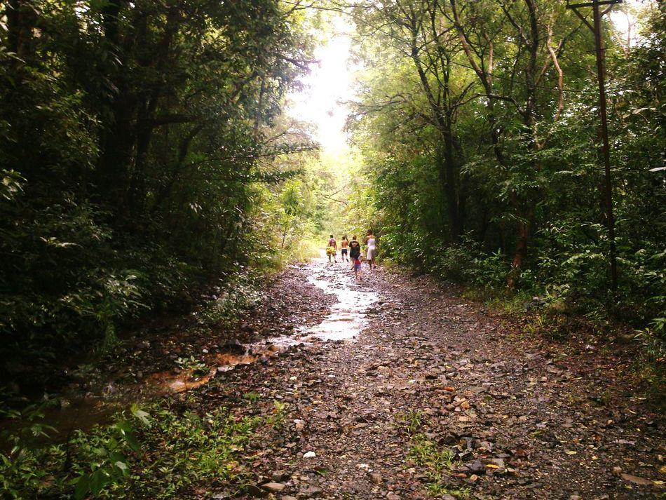 On The Road Streetphotography Enjoying Life Cousins ❤ Mountain Stream Mountain Hiking MasinlocZambales Mountain River Cousintime