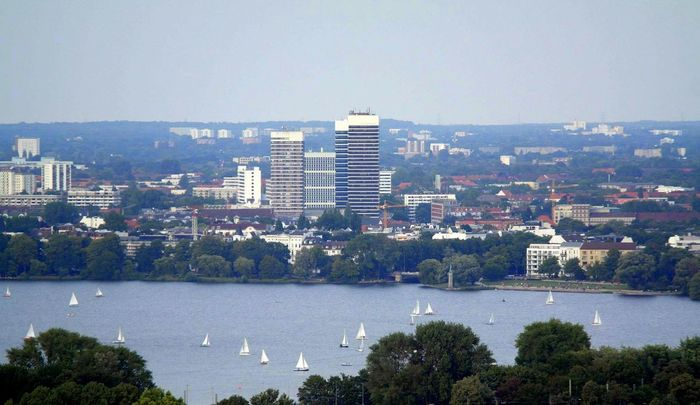 Hamburg Hamburg Ein Blick Uber Die Aussenalster I Love This City! Latesummer