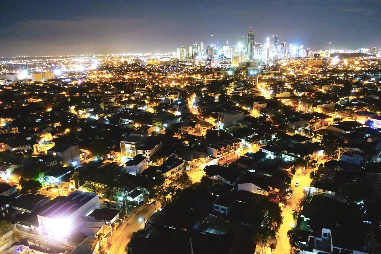 Cityscape Building Exterior Architecture City Illuminated Night Built Structure Residential Building Aerial View No People Outdoors Sky Settlement Iravels Philippines Itsmorefuninthephilippines