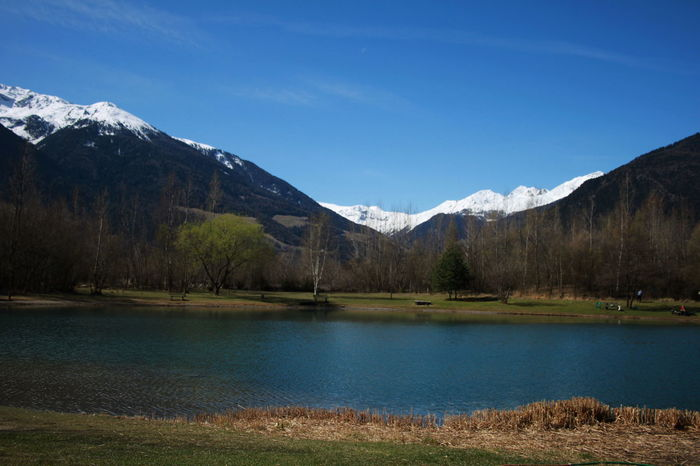 Südtirol April 2015 Beauty In Nature Day Forest Italy Lake Landscape Mountain Mountain Range Nature Outdoors Peak Reflection Scenery Scenics Sky Snow Vinschgauer Oberland Water Wilderness