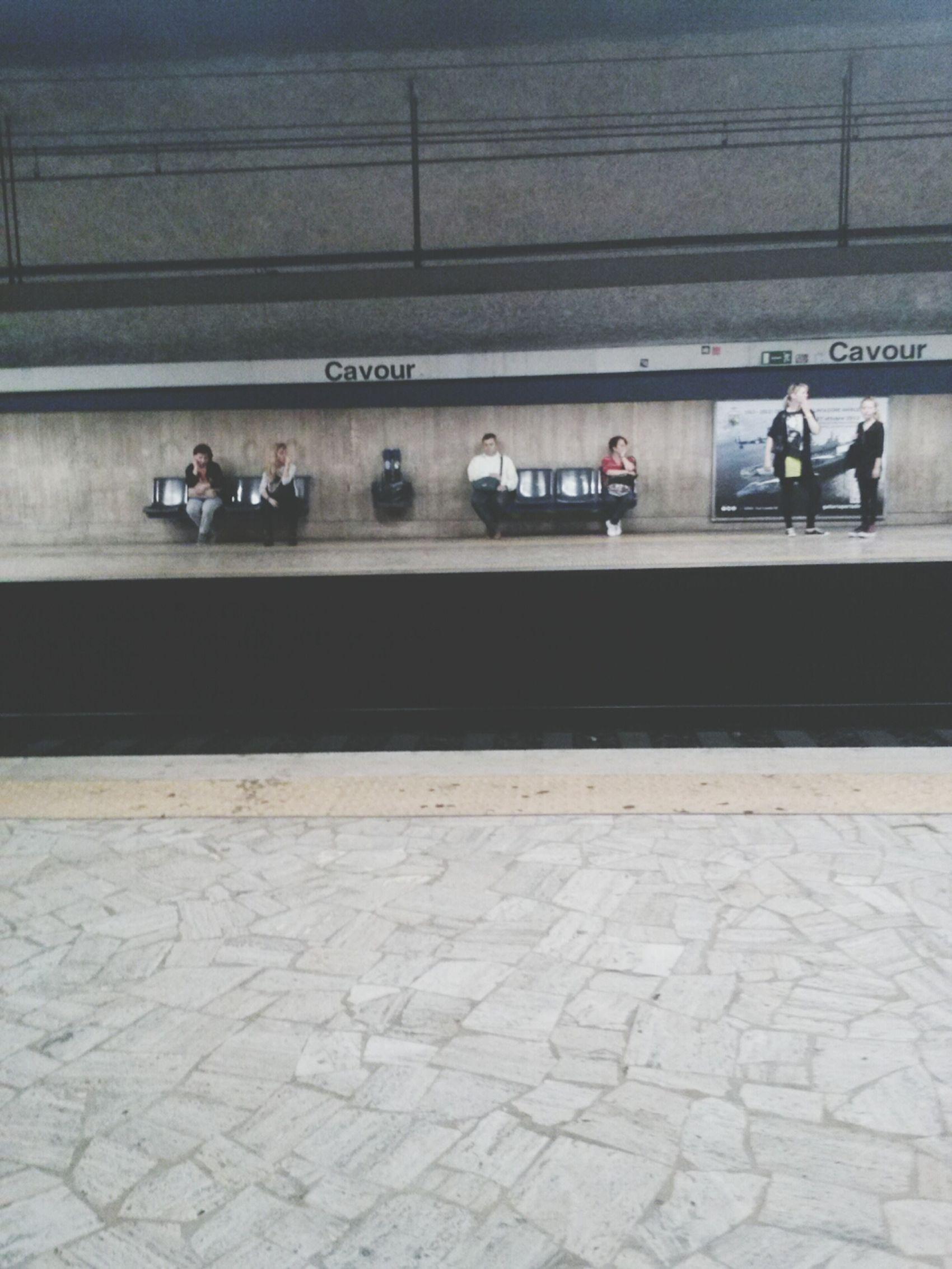 this morning :) Vscocam Metro Roma Cavour