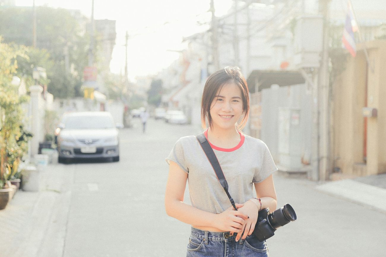 Relax Time  Taking Photos Eye4photography  EyeEm Best Shots Hight Key Smile Girl Good Afternoon Thailand
