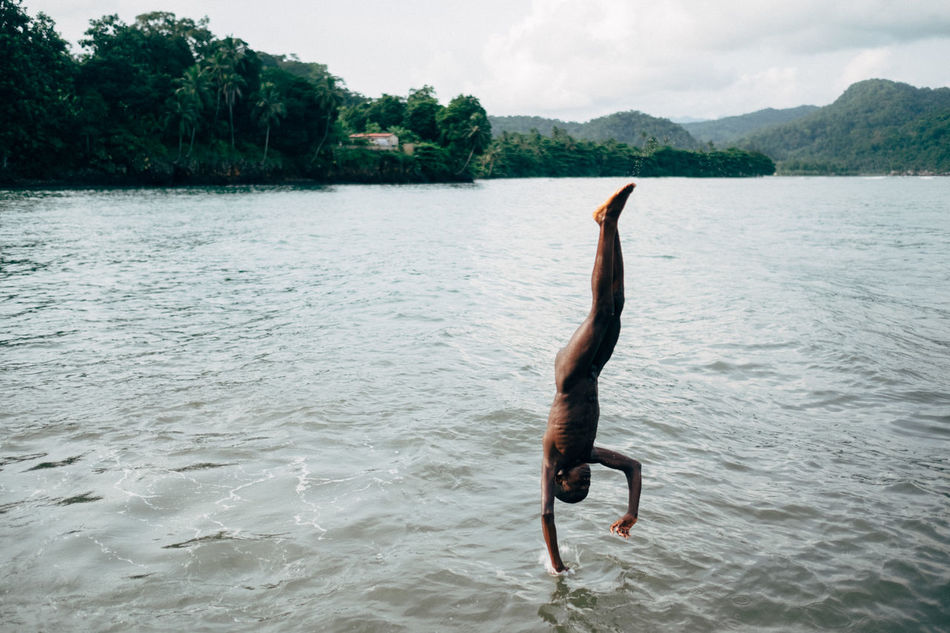 Africa African Beauty Beauty In Nature Jumping Nature One Person People Tree Vacations Water