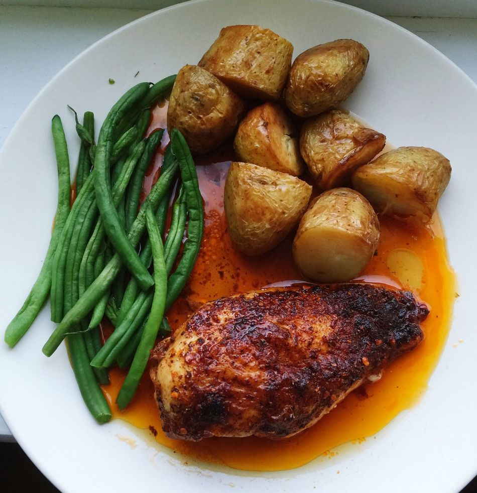 Chickenfillet Dinner Healthy Food Meal