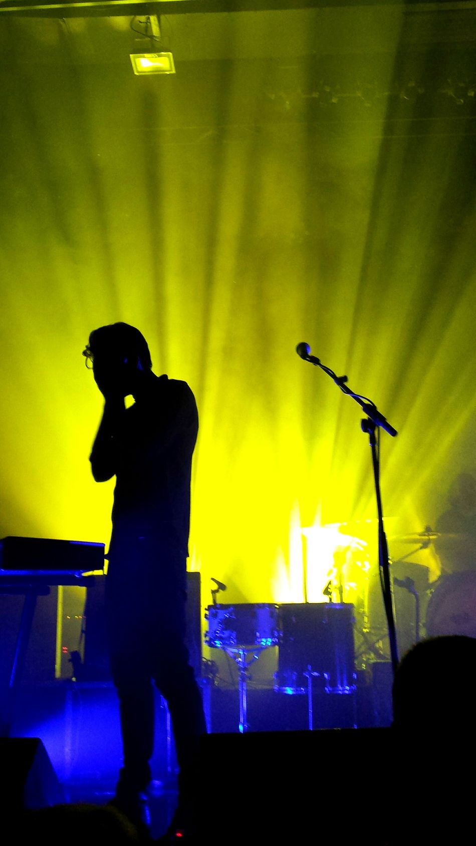Konzert - The Boxer Rebellion in Berlin Musik Music Concert Concert Photography Nightlife Berlin Indoors  Lights Silhoutte Photography Silhouette Shadow Concert Hall  Columbiahalle