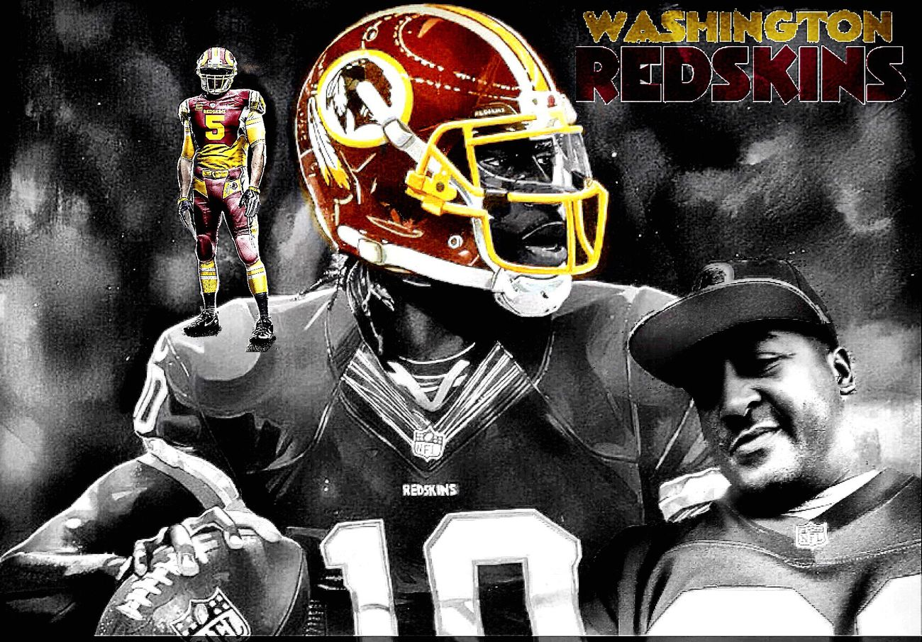 The pressure of pressure Redskins All Day Washington, D. C. Washington Redskins  Football NFL Blackandwhite Black & White Selfy BlendPic
