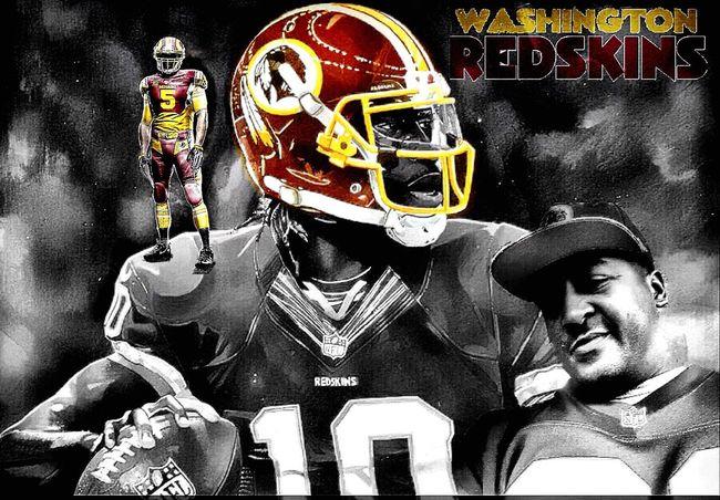 The pressure of pressure Redskins All Day Washington, D. C. Washington Redskins  Football NFL Blackandwhite Black & White Selfy BlendPic