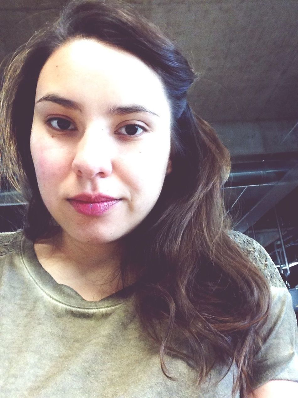 Selfie Greenandpink