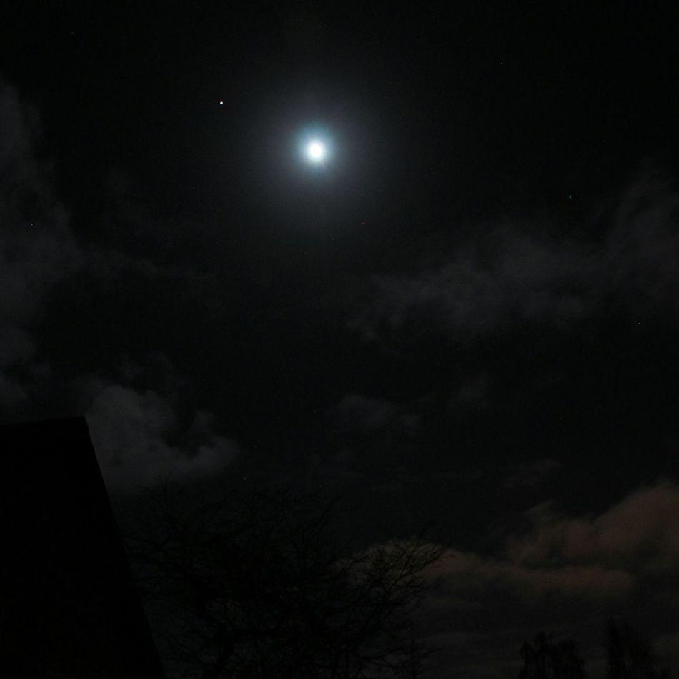 Aarhus In The Night Taking Photos Goodnight Moonlight Reachforthestars