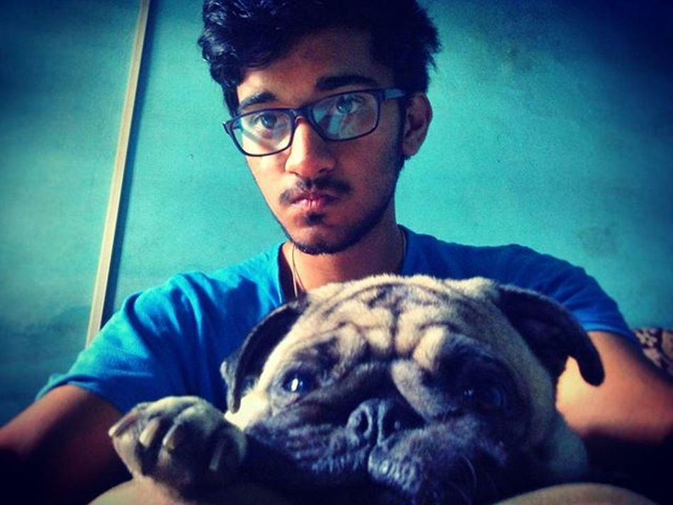 Morning selfie... She is addicted to me 😒 So much Love ❤ Pug Dog Selfie Selfiewithdog Puglife