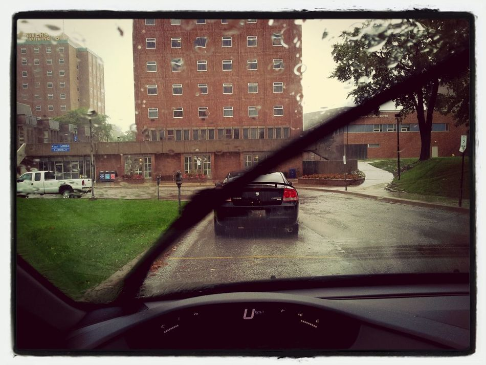 Going no where fast. Windsor, ON. Windsor Rain Theneoliberalcity