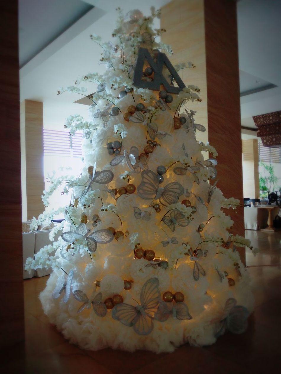 Christmas Around The World Hello World Christmas Tree Christmas Decorations White WhiteCollection Butterflies EyeEm Gallery Let's celebrate Christmas :-)